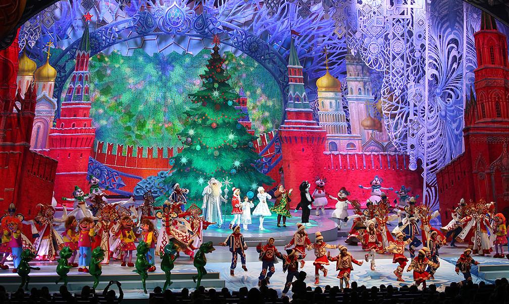 Увидеть Кремлевскую ёлку в этом году смогут все дети России