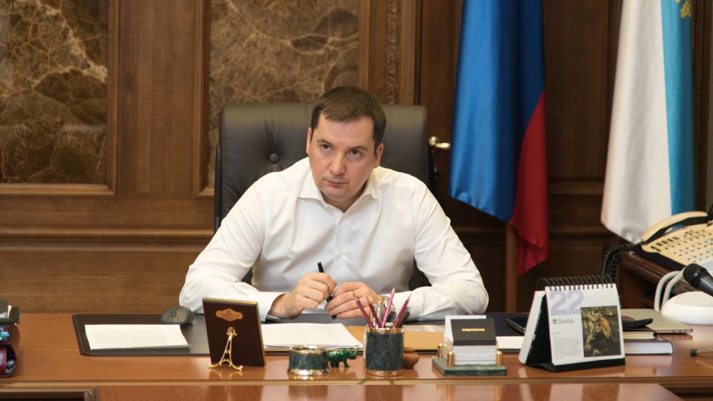 АлександрЦыбульскийпровел оперативное совещание по ситуации с авариями на сетях ЖКХ