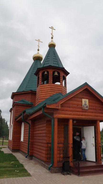 Храм в Сельменьге