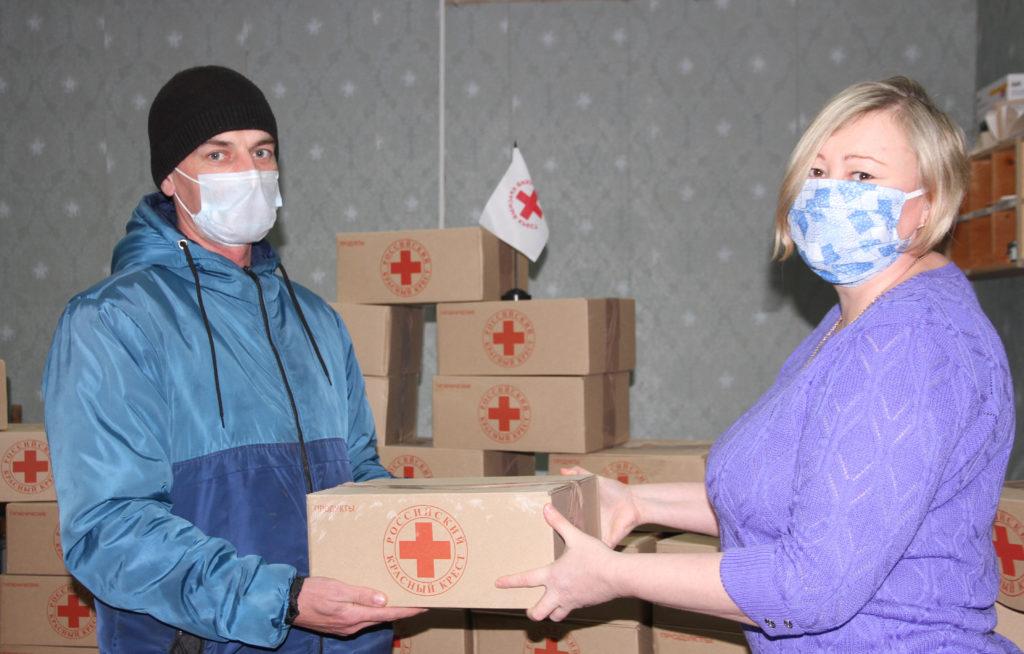 Помощь от Красного Креста пришла в Виноградовский район
