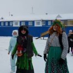 Торжественное открытие главной елки состоялось в поселке Сельменьга Виноградовского района