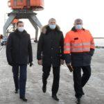 Александр Цыбульский обсудил с портовиками создание современного транспортного узла на станции Соломбалка