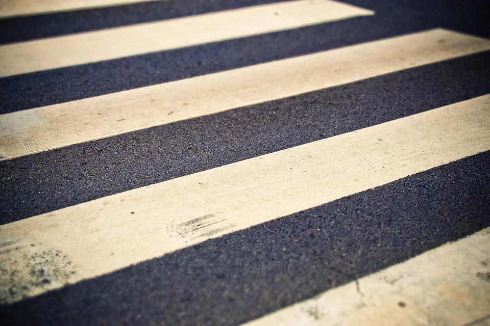 Пешеходный переход — в центре внимания