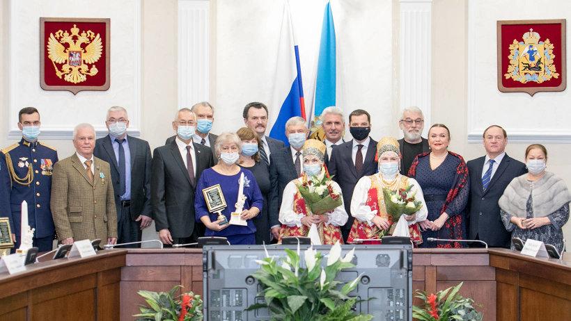 «Достояние Севера-2020»: общественную награду жителям Поморья вручил Александр Цыбульский