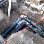 Аварийная ситуация на тепловых сетях в райцентре Виноградовского района устранена