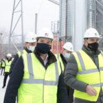 В столице Поморья открылось предприятие по производствупеллет