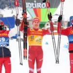 «Тур де Ски»: Александр Большунов – победитель гонки с раздельным стартом