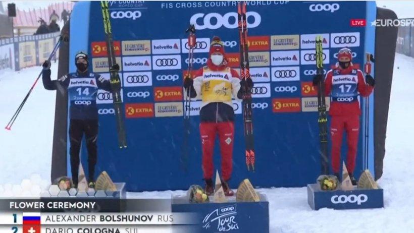 «Тур де Ски»: у Александра Большунова два золота лыжной многодневки