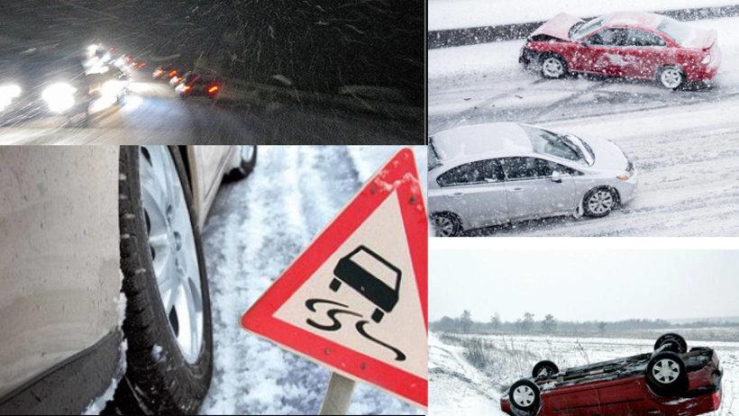 Сильные морозы требуют от водителей повышенной внимательности!