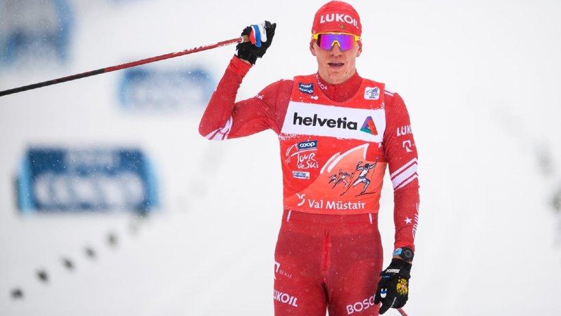 «Тур де Ски»: Александр Большунов – победитель гонки преследования