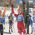«Тур де Ски»: Наталья Непряева – победитель женского масс-старта