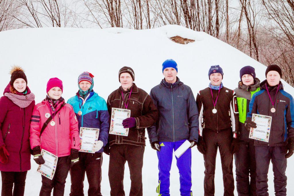 В Виноградовском районе лыжный сезон открыли «Рождественской гонкой»