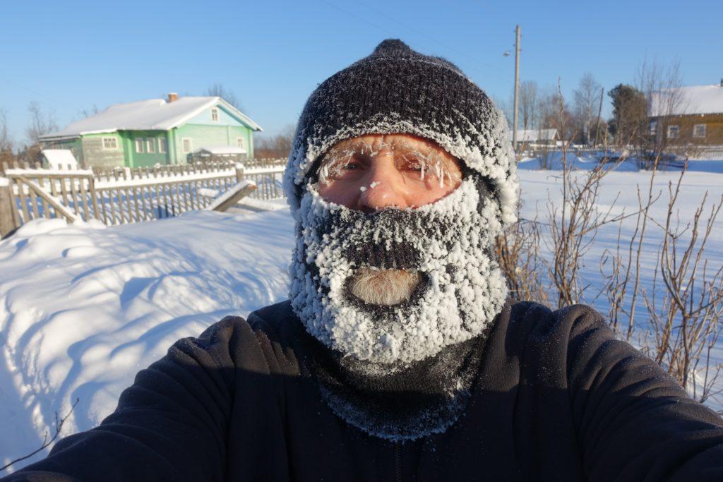 Мороз — не повод грустить и скучать!