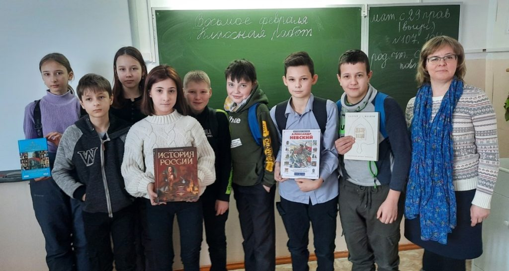 Заступник земли Русской: в Рочегодской школе провели мероприятие, посвященное Александру Невскому