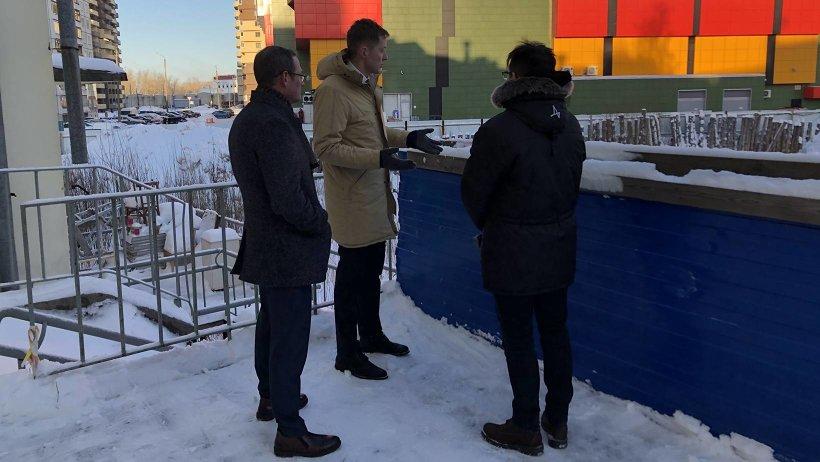 Александр Герштанский: «Возле детской поликлиники в Архангельске не должно быть заброшенной стройки»