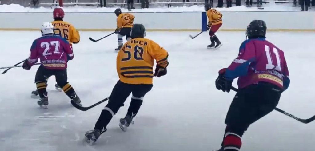 55-е Беломорские игры: в турнире по хоккею Виноградовский район — пятый