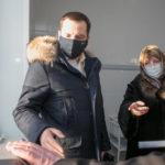Александр Цыбульский оценил готовность одного из сельских ФАПов к вакцинации от коронавируса