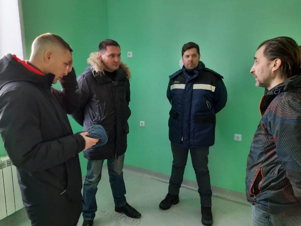 С рабочим визитом в Виноградовском районе и.о. министра строительства и архитектуры Владимир Полежаев