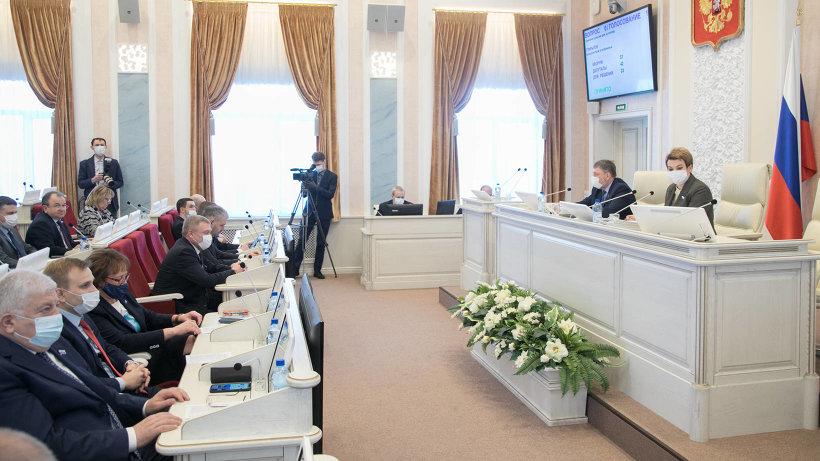 Среди итогов первой в этом году сессии областного Собрания – 10 принятых областных законов