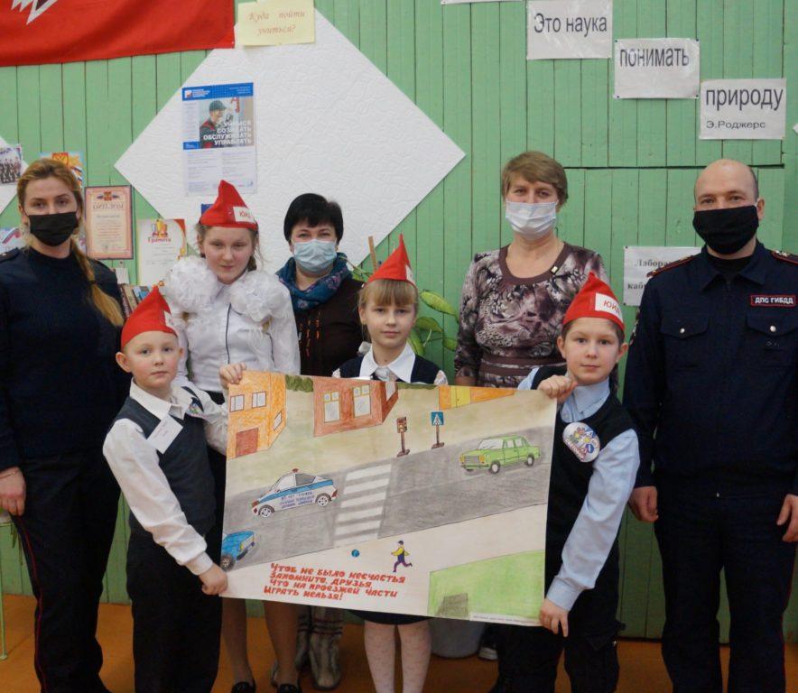 Моржегорская основная школа — победитель районного этапа «Безопасного колеса-2021»
