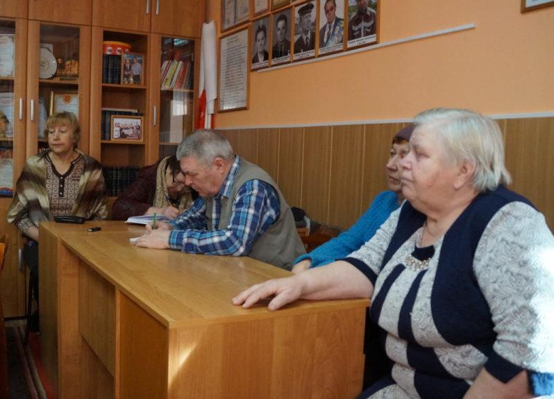 Председатель Виноградовского ВОС — вновь Нина Николаевна Антонова