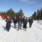 Вчера с рабочим визитом в Виноградовском районе побывала председатель АОСД Екатерина Прокопьева