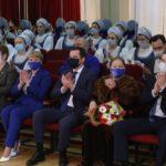 Александр Цыбульский поздравил Северный хор с 95-летием и вручил артистам награды