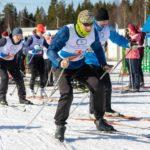В Малых Карелах в рамках областной спартакиады «Начни с себя-2021» состоялись лыжные гонки