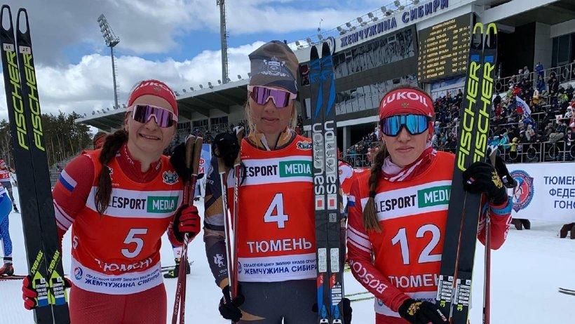 Наталья Непряева – серебряный призер чемпионата страны в скиатлоне