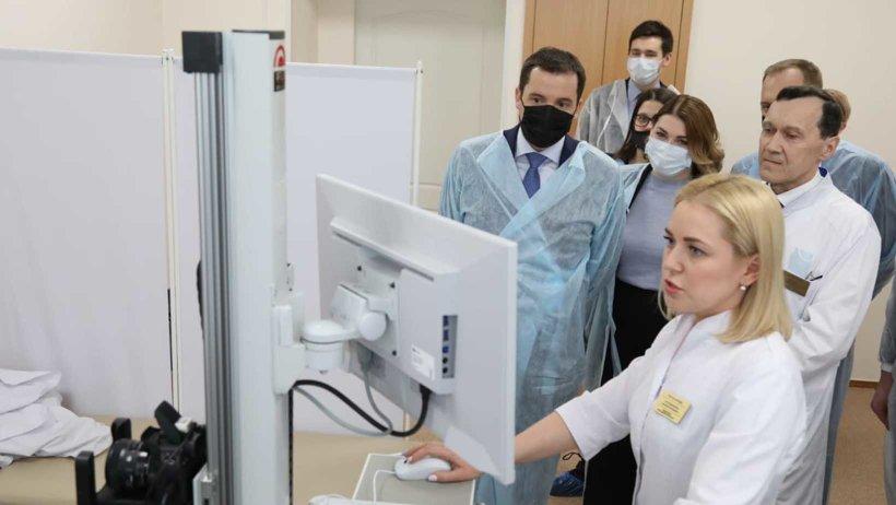 Архангельский клинический кожно-венерологический диспансер получил современное диагностическое оборудование