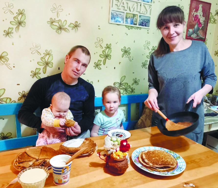Для родных и любимых ажурные блинчики готовит Надежда Головина из Березника и делится рецептом с вами!