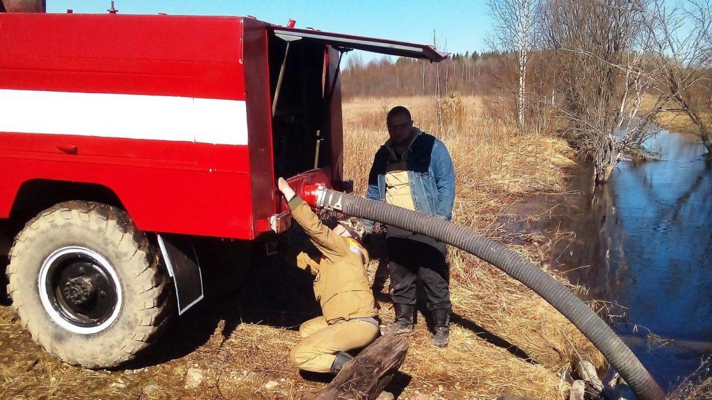 В Поморье приступили к противопожарному обустройству лесов