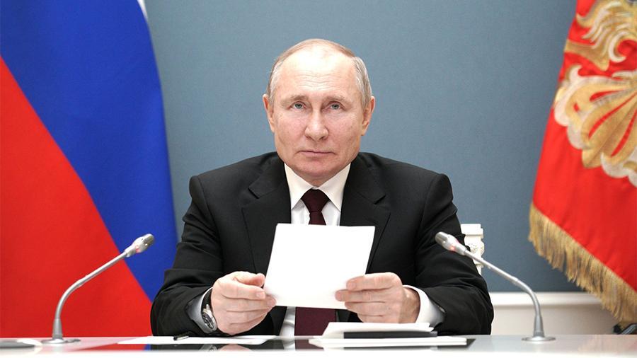 Путин объявил дни с 1 по 10 мая нерабочими