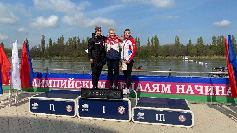 Байдарочница Наталья Подольская – победитель Кубка России