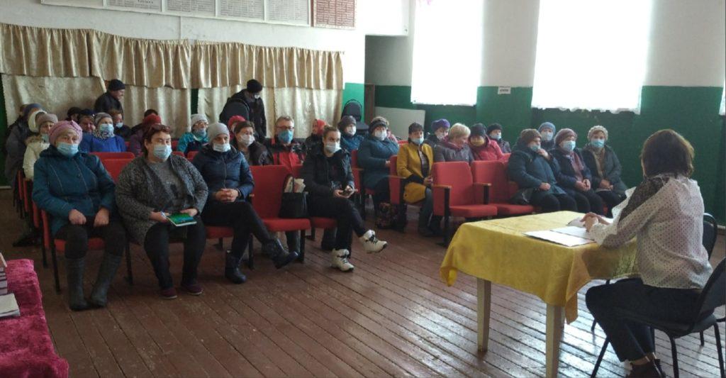 В МО «Борецкое» состоялась встреча населения с главой
