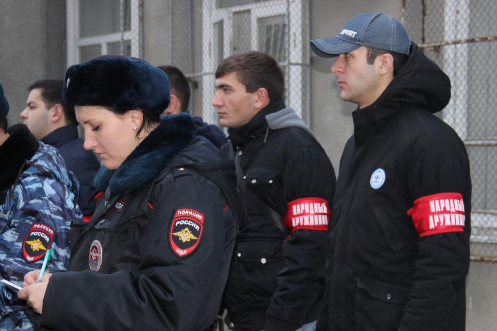 Граждан, участвующих в охране порядка, поддержат