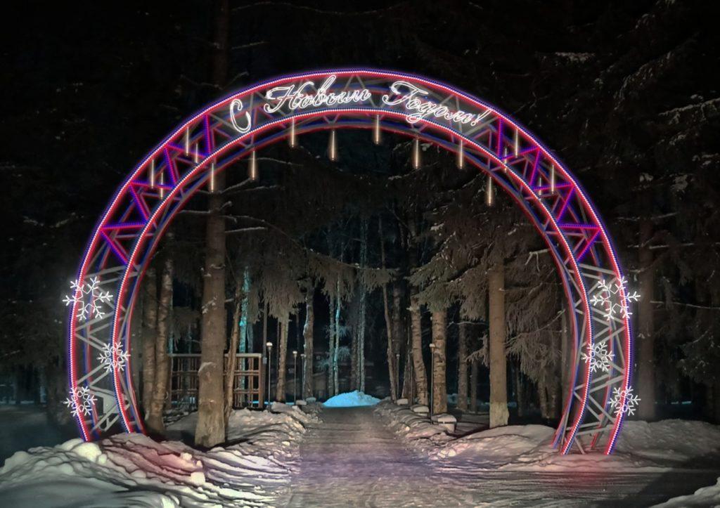 Парк Победы в Березнике засияет новыми красками