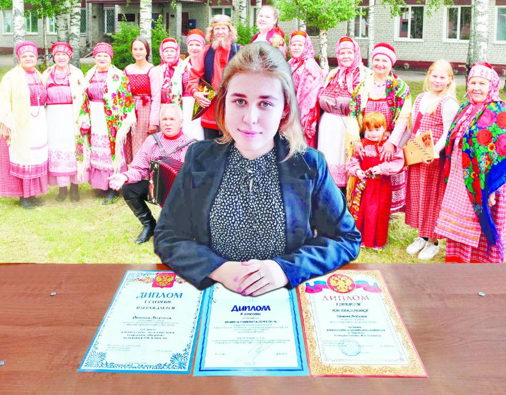 Людмила Ившина из Березника песни «Здарья» разобрала по составу и по звукам