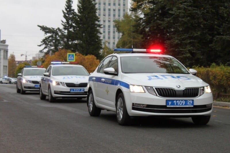 Новые патрульные автомобили получила Госавтоинспекция Виноградовского района