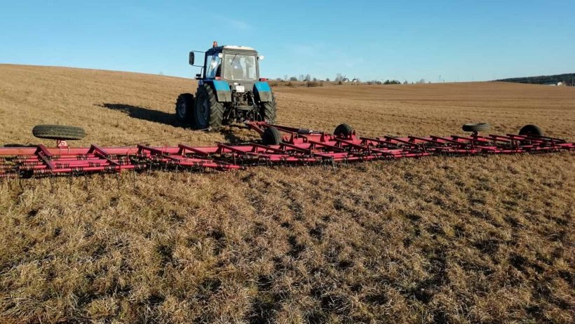 В Архангельской области начались весенние полевые работы