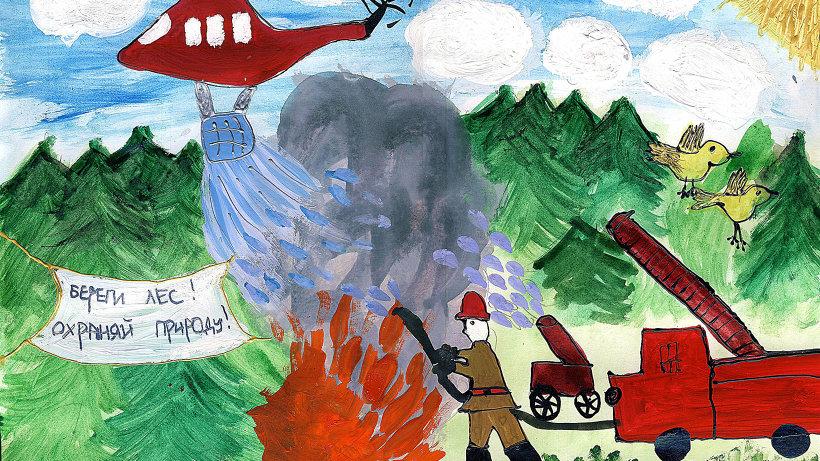 Защитим лес от пожаров! Северян приглашают к участию в областном творческом конкурсе