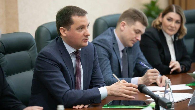 Александр Цыбульский обсудил с руководством Северо-Западного банка Сбербанка проекты, которые могут быть реализованы в Поморье