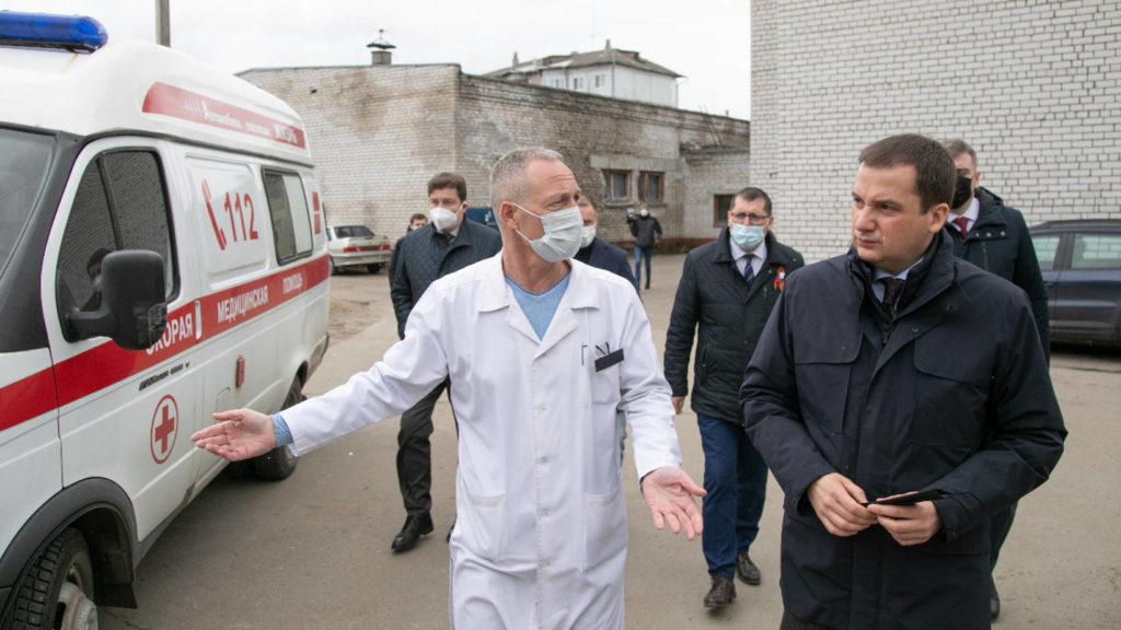 В Архангельской области создадут программу благоустройства больничных городков