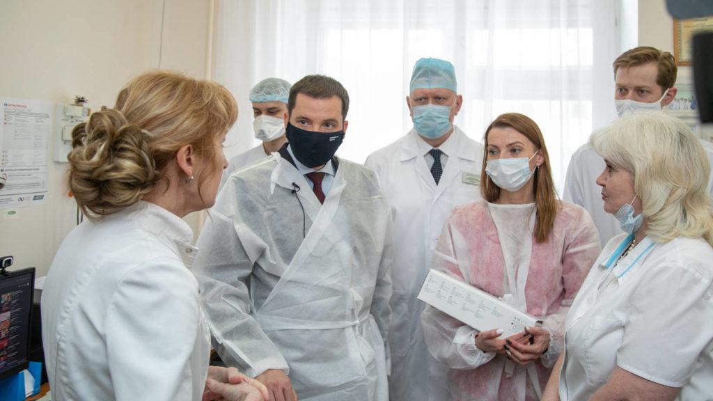 Центр управления сосудистыми рисками при первой горбольнице Архангельска будет работать с пациентами двух регионов – Поморья и Ненецкого округа