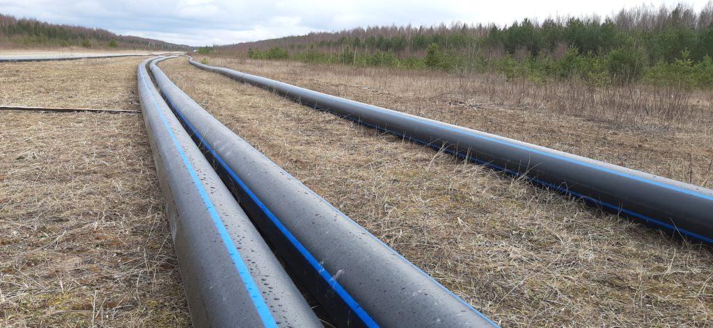 В поселке Березник Виноградовского района продолжается строительство станции очистки воды и водопроводных сетей