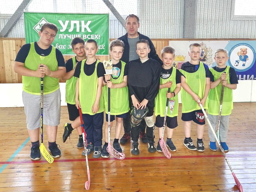 Илья Тараканов — лучший нападающий по итогам первых соревнований по флорболу