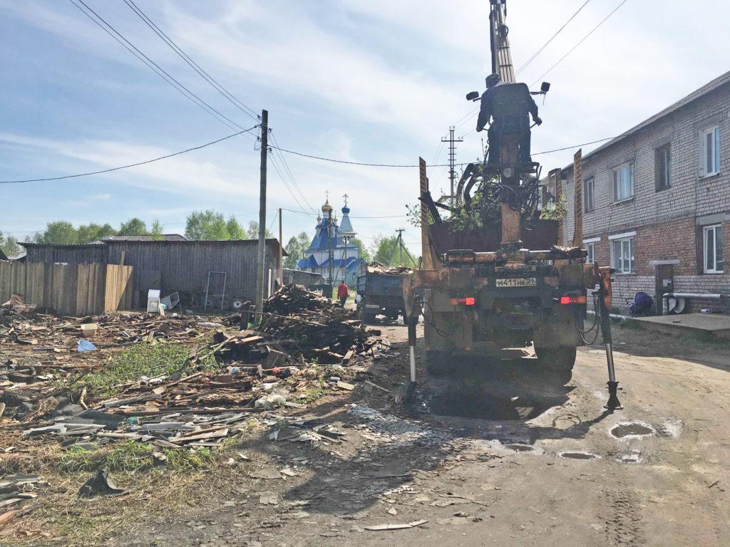 Городская среда в Виноградовском районе: подрядчики приступили к благоустройству дворов