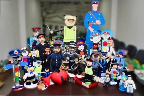Всероссийский конкурс детского творчества «Полицейский Дядя Степа»