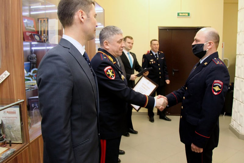 Руководителю ВПК «Гвардеец» Руслану Панину объявлена благодарность за патриотическое воспитание молодежи Виноградовского района