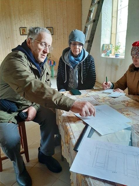 В Виноградовском районе восстанавливается церковь Успения Пресвятой Богородицы
